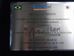 condecoração de distribuidor Kanaflex