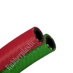 mangueira HPR solda dupla passagem de oxigênio e acetileno